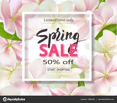 petals for sale sale background with flowers season discount banner design