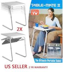 table mate tv tray 2x h33 smart table mate ii foldable folding tablemate as seen tv
