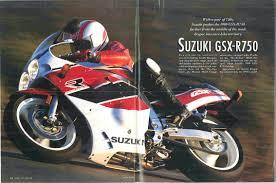 suzuki gsx r750 magazine articles