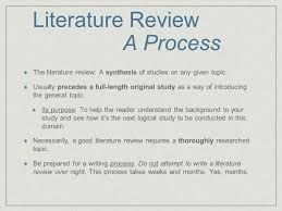 writing the literature review a guide for exercise u0026 sport science