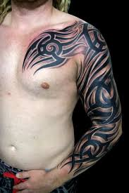 17 full sleeve tribal tattoos