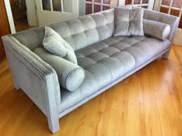 Houzz Modern Sofas by 1960 U0027s Square Tufted Sofa Completed Re Upholstery Commission