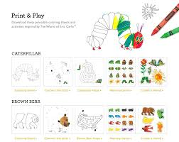 brown bear printable activities tiny tots reading