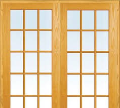 Wood Patio French Doors - patio doors exterior doors the home depot