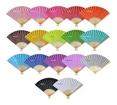 paper fans for wedding paper fans bamboo fan wedding favors tea and becky