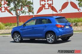 mitsubishi asx 2014 interior 2015 mitsubishi asx ls 2wd review video performancedrive