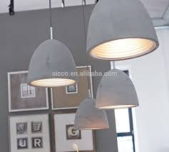 Decorative Pendant Light Fixtures Modern Industrial Concrete Light Decorative Home Hanging Pendant
