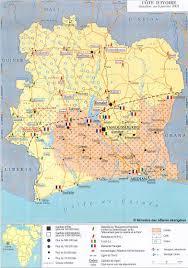 Ivory Coast Map Côte D U0027ivoire Ecoi Net European Country Of Origin Information