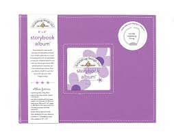 8 x 8 photo album doodlebug design lilac 8x8 storybook album