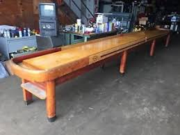 antique shuffleboard table for sale vintage 22 national shuffleboard table pub bar lodge man cave ebay