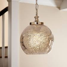 Hanging Light Fixtures For Kitchen Glass Globe And Crystal Pendant Light Glass Globe Crystal