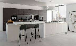 Grey Kitchen Tavola Modern Hacienda Black U0026 Light Grey Kitchen Stori
