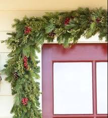 Garland Hangers For Banister Fresh Deluxe Holly And Greens Garland For The Banister The Most
