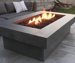 Concrete Firepits Concrete Pit Table