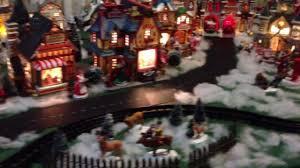 Christmas Village Sets Lemax Starlight Express Christmas Village Train Youtube