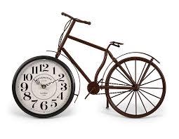 imax home decor amazon com imax 37034 higdon bicycle clock home u0026 kitchen