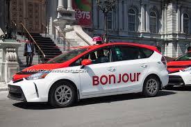 bureau des taxis facture salee pour le lancement des nouveaux taxis de montreal