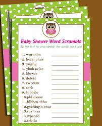 Free Printable Halloween Word Scramble by 50 Off Sale Owl Baby Shower Word Scramble Printable