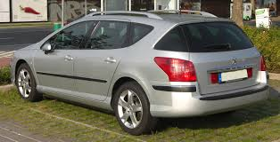 used peugeot 407 file peugeot 407 sw rear jpg wikimedia commons
