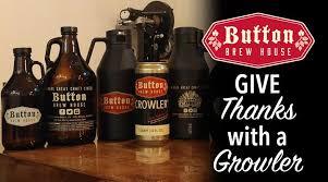 thanksgiving growler crowler savings button brew house