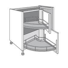 meuble d angle pour cuisine meuble d angle de cuisine idées de design maison faciles