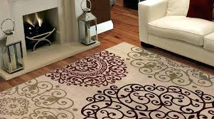 Brown And White Area Rug Brown Area Rug Thelittlelittle