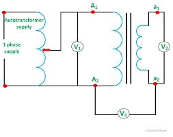 polarity test of transformer its circuit diagram circuit globe