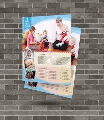 daycare flyer template 20 download free documents in vector eps