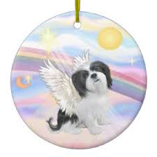 lhasa apso rainbow bridge gifts on zazzle