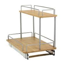 household essentials 1265b 1 glidez undersink sliding organizer