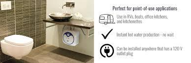 Bathroom Water Outlet Eccotemp Em 4 0 Electric 4 0 Gallon Mini Tank Water Heater