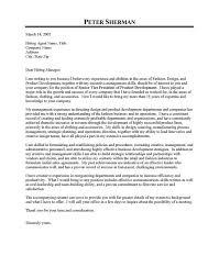 fashion design executive cover letter sample internships jobs