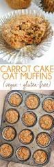 carrot cake oat muffins vegan gluten free emilie eats