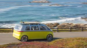 volkswagen electric concept volkswagen i d buzz this is vw u0027s first electric microbus coming