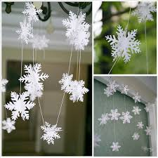 get cheap snowflake decoration paper aliexpress