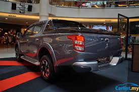 adventure mitsubishi 2017 2017 mitsubishi triton u2013 esc 7 airbags prices up auto news