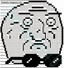 Meme Text Art - mother of someone ascii meme face code cool ascii text art 4 u