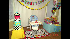 baby birthday party decoration ideas youtube