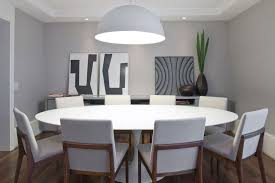 Contemporary Modern Round Dining Room Tables Image Of In - Modern round dining room table