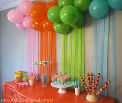 home decoration for birthday party decorating ideas