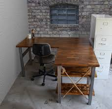 rustic l shaped desk pin by therusticforest on therusticforest pinterest solid wood
