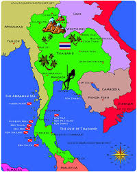 map of thailand thailand islands map search trip to thailand