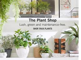 Planters U0026 Vases Shopping Online For Home Decor Decor Online by Artificial Flowers U0026 Faux Plants Pottery Barn