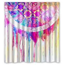 buy style46 designer dream catcher feather elegant shower curtain