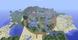 Minecraft Usa Map by Naruto Konoha Hidden Leaf Village Minecraft Project