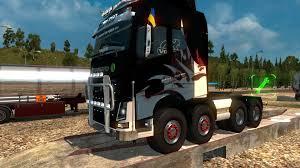 volvo hd trucks volvo fh16 2012 monstrik 8x8 v1 0 truck ets2 mod