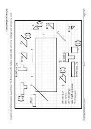 Transformations Geometry Worksheet Transformations Search Results Teachit Maths