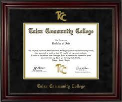 of south carolina diploma frame tulsa community college diploma frame 1