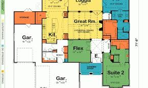 one story house plans with two master suites terrific house plans two master suites gallery best ideas