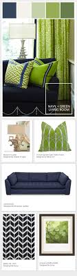 Navy And Green Curtains Motivation Monday Seahawks Blue Green Living Room Stylyze